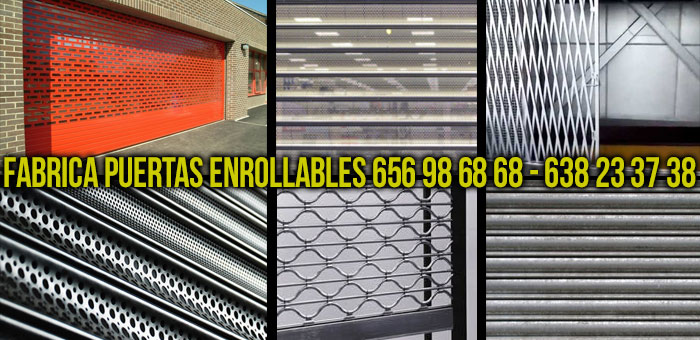 fabrica puertas enrollables madrid