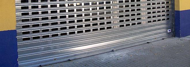 reparaciones urgentes cierres puertas enrollables