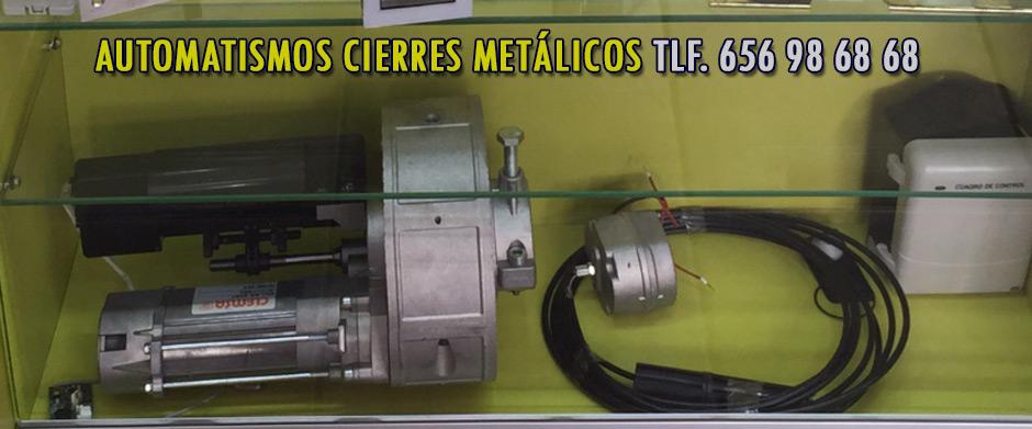 reparacion motor de puertas enrollables