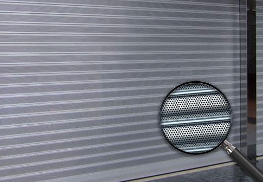 cierres metalicos lama micro perforada